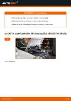 Ilmaiset ohjeet verkossa kuinka vaihtaa Öljynsuodatin VW CADDY III Estate (2KB, 2KJ, 2CB, 2CJ)