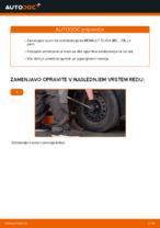 Zamenjavo Zglob stabilizatorja: pdf navodila za RENAULT CLIO