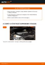 RENAULT CLIO hátsó és első Fékbetét készlet cseréje: kézikönyv online
