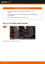 Schimbare Bieleta bara stabilizatoare: pdf instrucțiuni pentru RENAULT CLIO