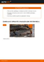 Navodila po korakih za popravilo Opel Corsa S93