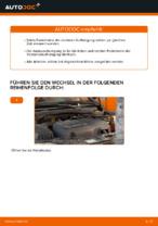 OPEL Stoßdämpfer Satz Gasdruck wechseln - Online-Handbuch PDF