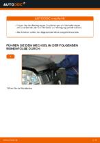 NISSAN Luftfiltereinsatz Auto Ersatz wechseln - Online-Handbuch PDF