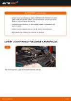 Hvordan bremseskiverne bag på VOLKSWAGEN PASSAT B5 (3BG, 3B6) udskiftes