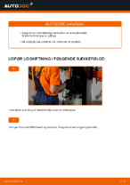 Hvordan man udskifter brændstoffilter på AUDI A4 B6