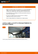 Cambio Juego de frenos de disco traseras y delanteras NISSAN bricolaje - manual pdf en línea