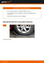 PDF guide för byta: Krängningshämmarstag NISSAN bak och fram