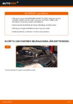 VW PASSAT Jarrulevy vaihto : käsikirja verkossa