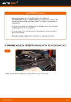 W jaki sposób wymienić tylne tarcze hamulcowe w VOLKSWAGEN PASSAT B5 (3BG, 3B6)