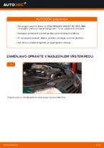 Kako zamenjati zavorne kolute na zadnjem delu pri VOLKSWAGEN PASSAT B5 (3BG, 3B6)