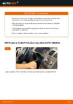 Mudar Escovas do Limpa Vidros VW TOURAN: manual técnico