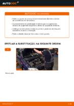 Como substituir a montagem de suporte de suspensão dianteiro em OPEL ASTRA G (T98, F08, F48)