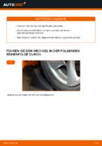 Auswechseln von Spurgelenk Anleitung PDF für PEUGEOT 206