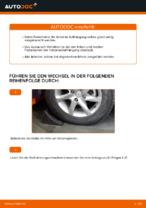 NISSAN Stoßdämpfer Satz Gasdruck wechseln - Online-Handbuch PDF