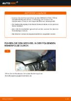 Wechseln von Bremsscheibe NISSAN X-TRAIL: PDF kostenlos