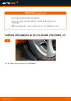 Wanneer Spoorstangkogel PEUGEOT 206 CC (2D) vervangen: pdf handleiding