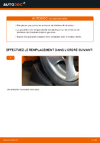 Remplacement Embout biellette de direction PEUGEOT 206 : instructions pdf