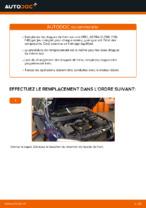 Comment remplacer des disques de frein avant sur une OPEL ASTRA G (T98, F08, F48)