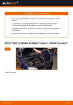 Comment remplacer le support de jambe de suspension avant sur une OPEL ASTRA G (T98, F08, F48)