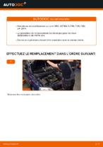 Remplacement d'un stabilisateur avant sur une OPEL ASTRA G (T98, F08, F48)