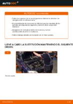 Cómo cambiar la cazoleta del amortizador delantero en OPEL ASTRA G (T98, F08, F48)