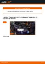 Cómo sustituir el líquido de transmisión manual en un OPEL ASTRA G (T98, F08, F48)