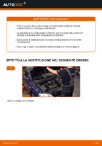 Come sostituire il montante supporto dell'ammortizzatore anteriore su OPEL ASTRA G (T98, F08, F48)