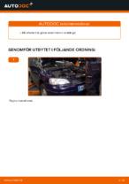 MOTUL CHRYSLER68171866AA för Astra G CC (T98) | PDF instruktioner för utbyte