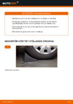 PDF guide för byta: Fjädersäte NISSAN bak och fram