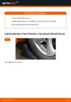 Skifte Endeledd: pdf instruksjoner for PEUGEOT 206