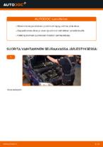 Kuinka vaihdat joustintuet OPEL ASTRA G (T98, F08, F48) -autoon