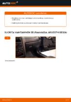 Kuinka vaihtaa moottorin ilmansuodatin OPEL ASTRA G (T98, F08, F48) malliin