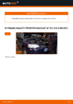 W jaki sposób wymienić olej przekładniowy manualnej skrzyni biegów w OPEL ASTRA G (T98, F08, F48)