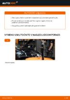 Ako vymeniť vzperu predného tlmiča na aute VOLKSWAGEN GOLF V