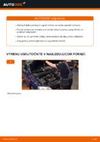 Ako vymeniť uloženie prednej vzpery zavesenia kolies na OPEL ASTRA G (T98, F08, F48)