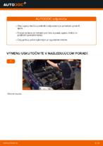 Ako vymeniť vzperu predného tlmiča na aute OPEL ASTRA G (T98, F08, F48)