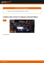 Ako vymeniť kvapalinu manuálnej prevodovky na aute OPEL ASTRA G (T98, F08, F48)