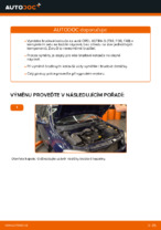Jak vyměnit přední brzdové kotouče na OPEL ASTRA G (T98, F08, F48)