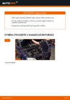 Jak vyměnit vzpěru předního tlumiče na autě OPEL ASTRA G (T98, F08, F48)