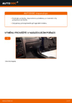 Jak vyměnit vzduchový filtr motoru na OPEL ASTRA G (T98, F08, F48)