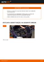 Como substituir a coluna de suspensão dianteira no OPEL ASTRA G (T98, F08, F48)