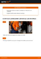 Kuidas vahetada kütusefiltrit autol AUDI A4 B6