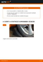 A Csapágyazás, kerékcsapágy ház cseréjének barkácsolási útmutatója a PEUGEOT 206 CC (2D)-on