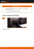 Kā nomainīt dzinēja gaisa filtru automašīnā OPEL ASTRA G (T98, F08, F48)