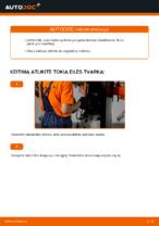 Kaip pakeisti kuro filtrą AUDI A4 B6