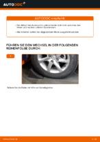 NISSAN X-TRAIL (T30) Bremstrommel wechseln vorne und hinten: Anleitung pdf