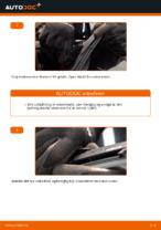 Hvordan skifter man og justere Vinduesvisker bag og foran: gratis pdf guide