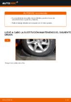 Reemplazar Barra oscilante suspensión de ruedas NISSAN X-TRAIL: pdf gratis
