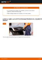 PDF manual de reemplazo: Pinza de freno AUDI A4 Berlina (8E2, B6) delantera y trasera