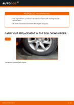 NISSAN X-TRAIL (T30) change Brake Drum rear and front: guide pdf
